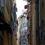 Walking through Old Town Nice