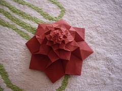 flower tower (Dasssa) Tags: origami tessellation chrispalmer flowertower