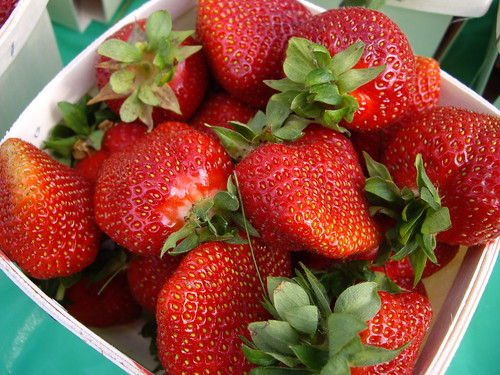 Strawberries from Rhoads