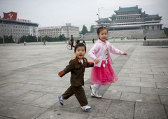 Back from my 3rd trip in North Korea (Eric Lafforgue) Tags: pictures cute kids children army photo war uniform asia picture korea explore kimjongil asie coree northkorea armee pyongyang dprk coreadelnorte kimilsung 6639 nordkorea lafforgue kimilsungsquare    coredunord coreadelnord  northcorea coreedunord  insidenorthkorea  rpdc  coriadonorte  kimjongun coreiadonorte