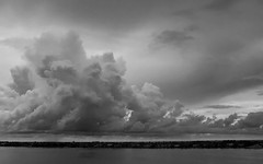 Storm Over Palm Beach Island (DMF Photography) Tags: nature clouds landscapes florida westpalmbeach storms palmbeach mothernature southflorida lakeworth theintracoastal palmbeachisland
