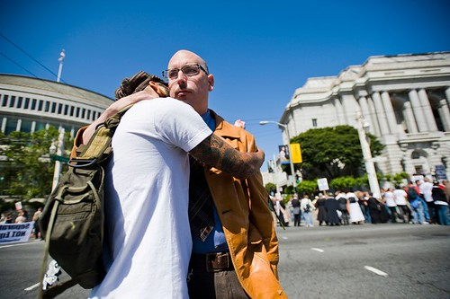 A hug after Prop 8