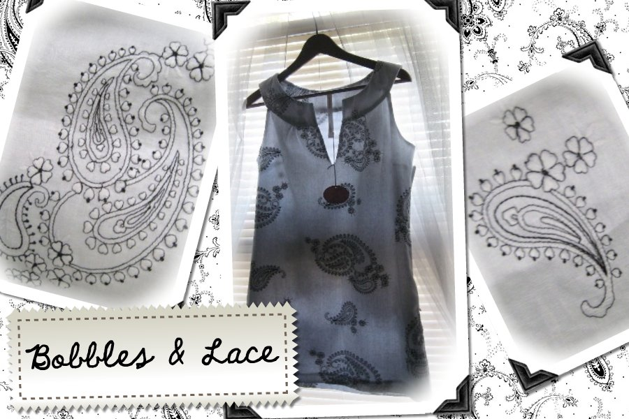 Bobbles & Lace Dress