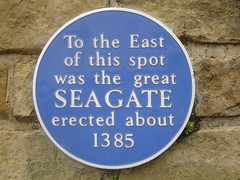 Photo of Seagate blue plaque
