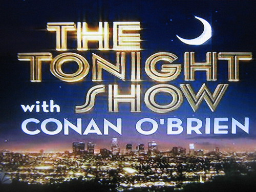Conan Tonight Show LA