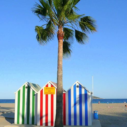 Beach Cabin by Ginas Pics