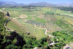 Ronda Countryside II (cwgoodroe) Tags: summer costa white hot sol beach del bells spain ancient europe churches sunny bull bullfighter adobe ronda moors walls washed clothesline protective newbridge roda bullring stonebridge oldbridge spainish whitehilltown rondah spanishdoors