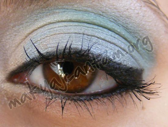 turkuaz goz makyaji ornegi goz makyajı nasıl yapılır sırları fotoğrafları