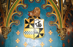 Taymouth Castle - Campbell of Breadalbane Clan Crest