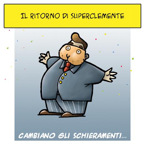 Il ritorno di SuperClemente