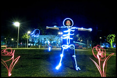 light painting terminator (andreas gessl) Tags: vienna wien flowers light lightpainting colors night painting austria crazy long exposure nacht drawing creative cinematic stadthalle lichtmalerei lightart lightdrawing lichtmalen lightjunkie florianlanderl