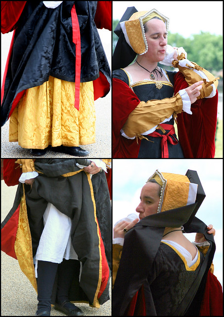 Tudor ladies costume was explained