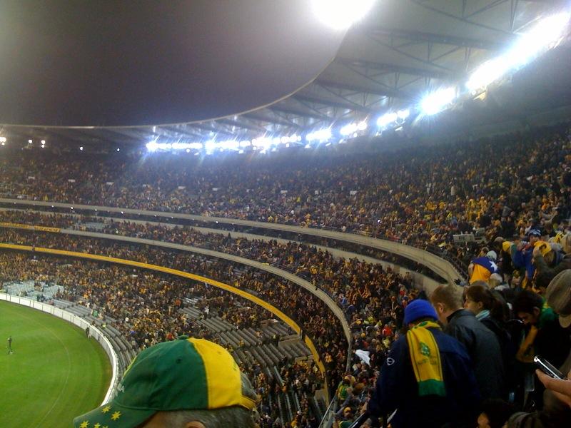 MCG crowd