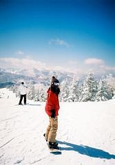 Shiga Kogen (dekahiro) Tags: winter snow film japan japanese lomo lca snowboard 35  dnp