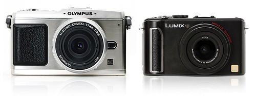 Olympus PEN E-P1 vs Panasonic Lumix DMC-LX3