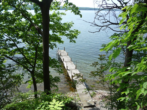 Our dock on Seneca Lake