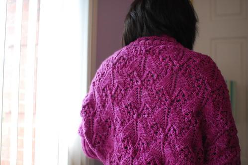 macro lace, back