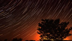 Walla Walla Star Gazing~ (JMR Visuals) Tags: city light night photography lights star timelapse nikon exposure glow dynamic image jonathan trail ambient stacking manual range increase michaels silohuette blending d300 lengthy startrail d90 d80