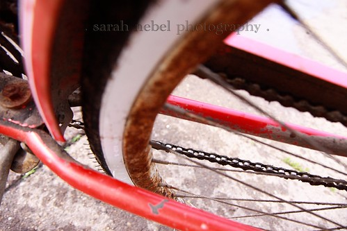 . rusty rims .