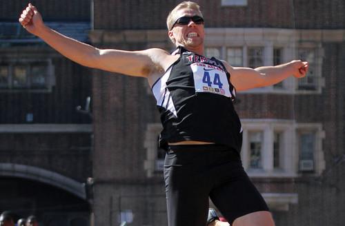 Temple's Senior Sprinter/Jumper Tim Boeni