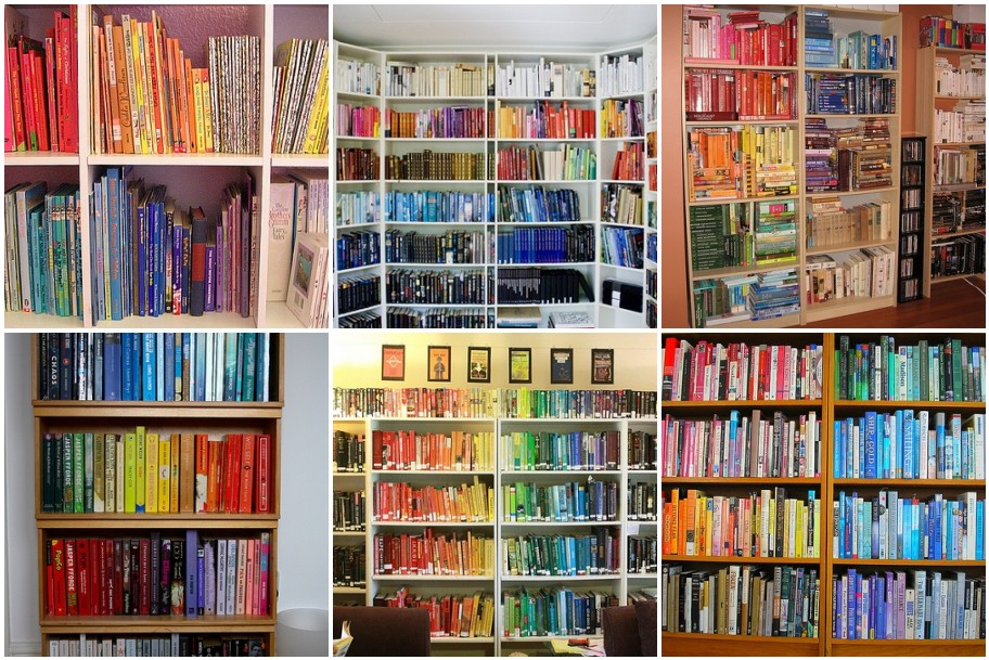 book rainbow mosaic