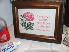 Charles Bukowski Quote (ruby0042) Tags: crossstitch poetry subversive charlesbukowski phatquarter ruby42