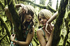 (yyellowbird) Tags: girls oregon forest portland explore cari frontpage tyjon wispra