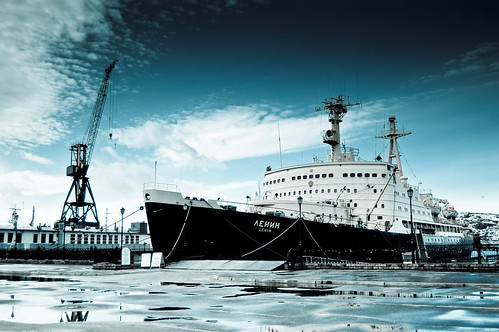 [フリー画像] 乗り物, 船・船舶, 砕氷船, 201103272300