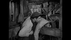 Stalag 17 (1953) (Awkward Boy Hero) Tags: dvd screenshot worldwarii movies 1953 bettygrable billywilder stalag17 nazipowcamp iwatchalotofmovies awkwardboyhero