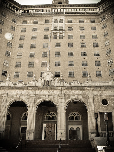 Baker Hotel Front (Tall View)