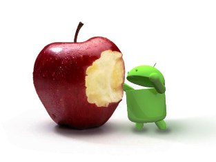 Android Bites Apple