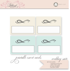 Frame DIY Wedding Invitation Suite - Printable PDF (blush printables) Tags: graphicdesign invitation card pdf weddings custom personalized weddingreception placecard weddinginvitation printable tablenumber escortcard knetteam printableweddinginvitations blushprintables weddinginvitationsuites