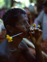 Beedi (Muria 20: The end) (Collin Key (away)) Tags: india maria piercing trance ind bijapur adivasi chhattisgarh bastar trancedancer dantewada collinkey gondtribes tribalpeopleofindia