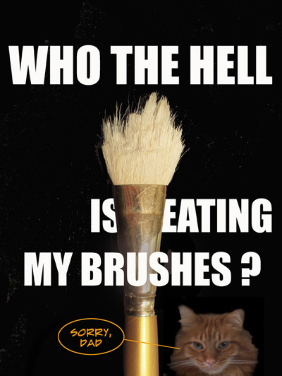 Eating Brushes
