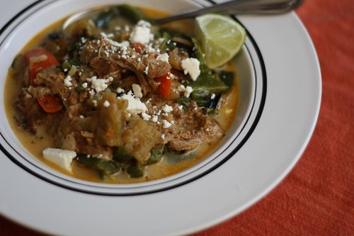Mexican Braised Veal Soup