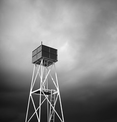 The watchtower (c e d e r) Tags: ocean sea sky bw white seascape storm black tower art beach nature rain architecture clouds zeiss swimming canon photography eos coast skne bath europe sweden fine monochromatic minimal full contax jens malmoe frame sverige bathing fullframe scandinavia malm minimalistic malmo scania watchtower fineartphotography ceder distagon black white ribersborg bw minimalisticphotography 5dii cy1435 contaxdistagont1435 jensceder