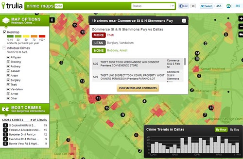 Crime Map Beta - Trulia - 1