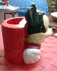 Gypsum tempat pensil mickey 1