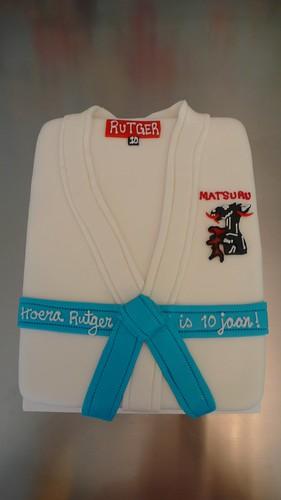 Judo Birthday Cake by CAKE Amsterdam - Cakes by ZOBOT