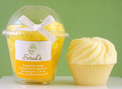 Yellow Cupcake Soap