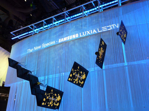 Samsung Luxia LED TV Lineup