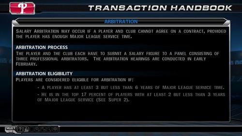 MLB 09 The Show screenshot - Arbitration