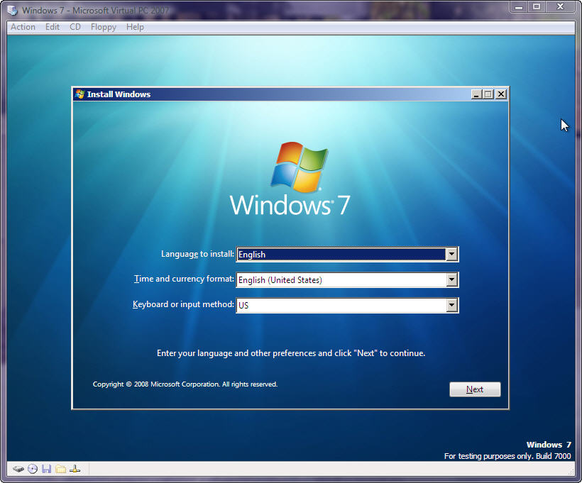 3203489714 e66d0f6e70 o d - Install Windows 7 Inside Windows Vista or Windows