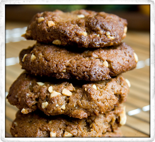 :: Yummy Wholewheat Peanut Butter Cookies!