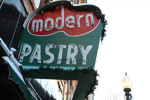 Modern Pastry, North End Boston