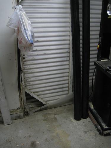 garage floor is now clean