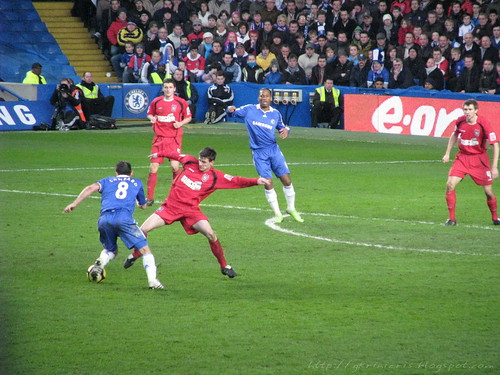 Lampard on action
