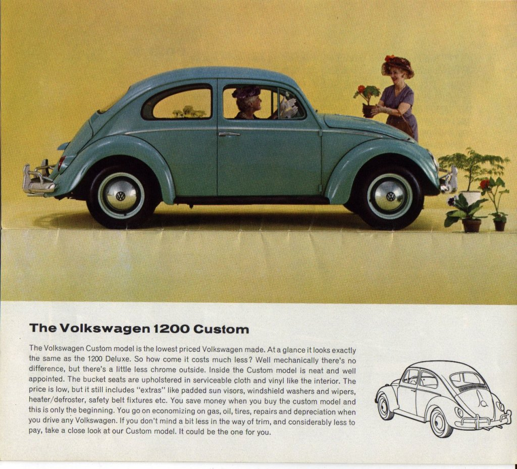 1962 Volkswagen Beetle Canadian