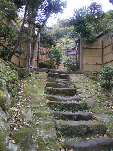 Entrada a una casa de la zona rural de Kamakura