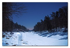 DPP07D90201042018_v2 (stuttgart_san) Tags: longexposure blue trees shadow moon lake snow lightpainting night nightscape nocturnal nightshot empty fullmoon startrails motionblurr nocturnes cablerelease strobist snoscape